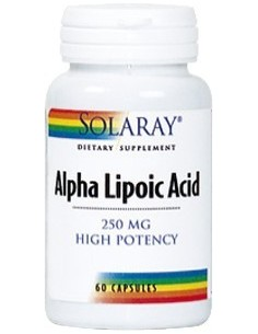 Alpha Lipoic Acid 250 mg 60 cápsulas