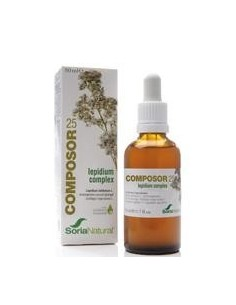Composor 25 - Lepidum Complex, 50ml - Soria Natural
