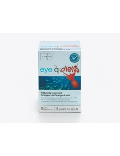 Eye q® chews infantil 60 perlas