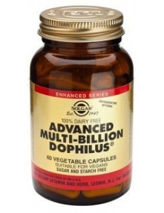 Multi Billion Dophilus Avanzado, 60 cáp. veg. - Solgar