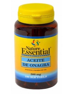 Aceite de onagra 510mg, 100 perlas - Nature Essential
