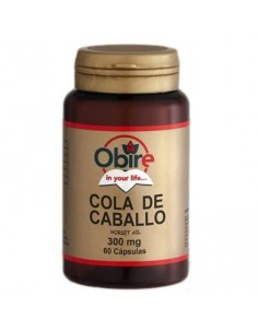 Cola de Caballo 300mg, 60 caps. - Obire