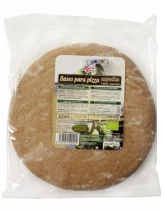 Pizza Base Espelta Integral Bio, 300 gr (2 Bases) - La Finestra