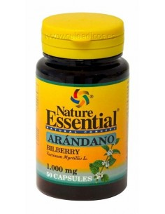 Arándano 1000mg, 50 caps. - Nature Essential