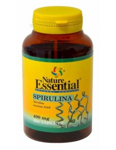 Espirulina 400mg 250 tabletas Nature Essential
