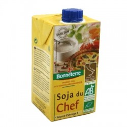 Crema de Soja Chef Bio, 250 ml - Bonneterre
