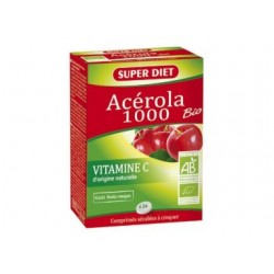 Acerola 1000 24 comp - Super Diet