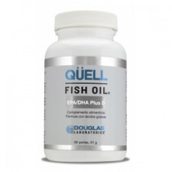 QUELL FISH OIL EPA/DHA Plus D3 30 perlas DOUGLAS