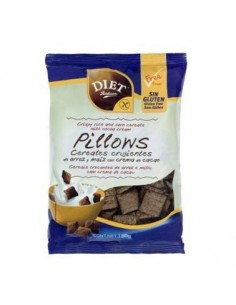 Cereale Pillows crujientes chocolate S/G 150gr  Diet-Radisson
