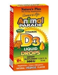 Animal Parade vitamina D3 gotas 10 ml