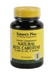 Natural Beta Carotene 90 perlas
