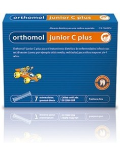 JUNIOR C PLUS 7 sobres granulado Orthomol