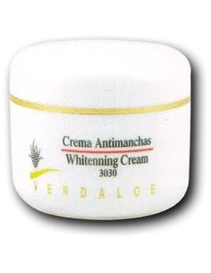 Crema facial antimanchas Aloe 30ml Verdaloe