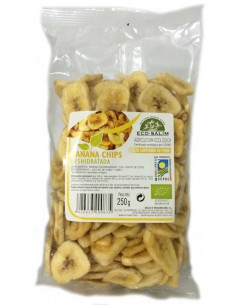 Banana Chip Bio 250gr Eco-Salim