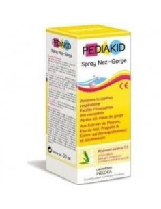 PEDIAKID garganta spray 20ml INELDEA