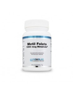 Metil folato Metafolin 1000mcg 30 comp DOUGLAS