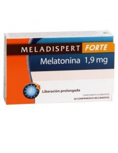 MELADISPERT FORTE melatonina 1,9mg. 60comp