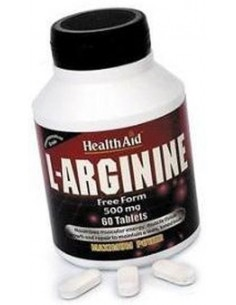 L-Arginina 500 mg 60 comp Health Aid