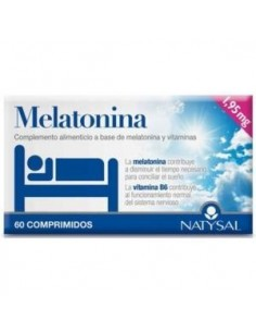 Melatonina 60comp Natysal
