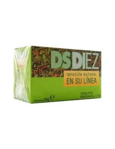 Ds Diez Infusion 20Sobres Phytovit