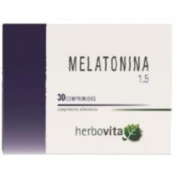 Melatonina 1,5mg 30comp Herbovita