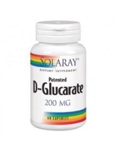 D glucarate calcium 200mg 60cap Solaray
