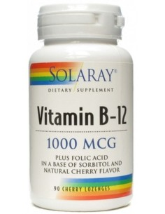 Vitamina B12 con acido folico 1000 mcg 90 comp