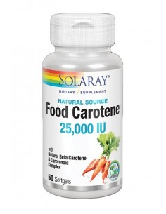 Food Carotene 50 perlas Solaray