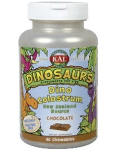 Dino Colostrum chocolate 60 dinosaurios masticables