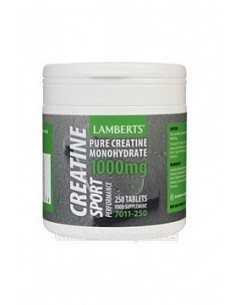 Creatina 1000 mg 250 tab Lamberts