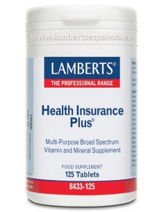 Health Insurance Plus 125 tabletas