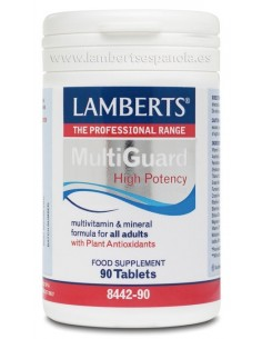 Multi-Guard  vitaminas y minerales 1 al dia 90 tabletas