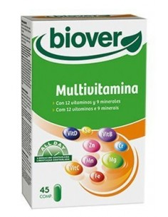 Multivitaminas (basic vitamin) 45 comp biover