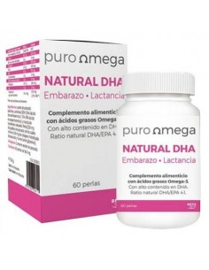 Natural DHA Embarazo y Lactancia 60 perlas
