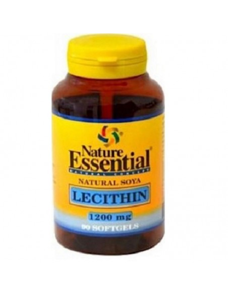 Lecitina de Soja 1200 mg 90 perlas Nature Essential