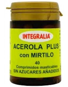Acerola Plus con Mirtilo 40 comp