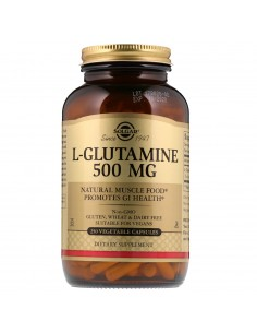 L-Glutamina 500 mg 250 cap