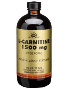 L-Carnitina Liquida 1500 mg 473 ml