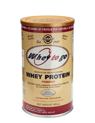 Whey Protein To Go Chocolate 453 Gr
