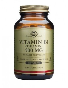 Vitamina B1 (Tiamina) 500 mg 100 comp