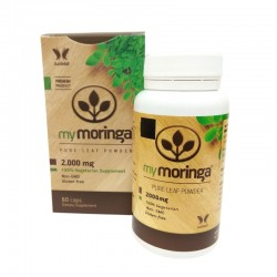 Mymoringa pure leaf powder 2000 mg 60 cap