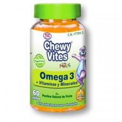 Chewy Vites Omega 3 60 ud