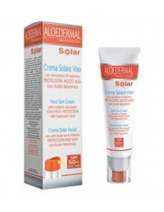 Aloedermal Crema Solar Facial  SPF50+ 50ml TREPAT DIET