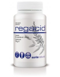 Regacid acidez 60 compr Soria Natural