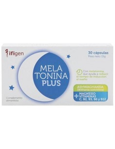 Melatonina Plus con ashwagandha 30 cap