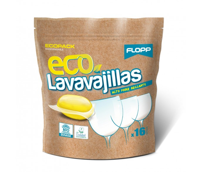 FLOPP LAVAVAJILLAS GEL ECO (craft) (cara)