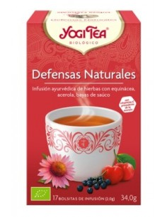 Yogi Tea. Defensas Naturales.17 tea bags