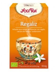 Regalíz Infusion Yogi Tea