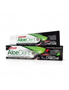 Dentrifico Aloedent Carbón Activo 100ml.