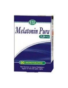 MELATONINA PURA 1.9mg 60comp TREPAT DIET